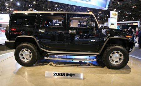 2008 Hummer H2 and H2 SUT