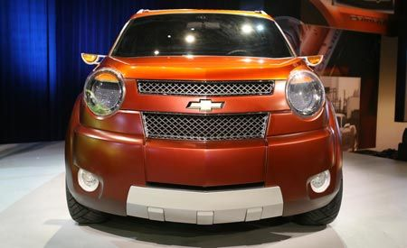 Chevrolet Trax, Beat, and Groove Concepts