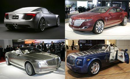 Most Fabulous Debuts of the 2007 Detroit Auto Show