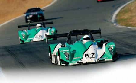 Little Green Racing Machines