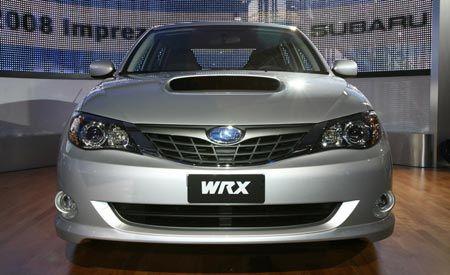 2008 Subaru Impreza and Impreza WRX