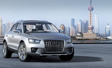 2009 Audi Q3 Cross Coupe Quattro Concept