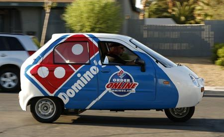 Domino's Electrifies Pizza Delivery