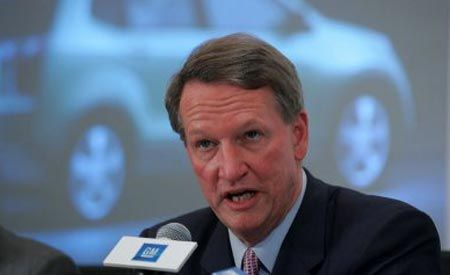 GM's Wagoner on Chrysler Sale Fallout