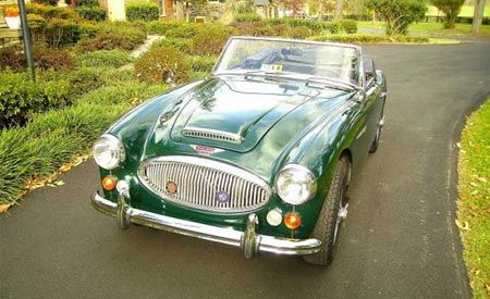 Healey Nameplate Resurrected