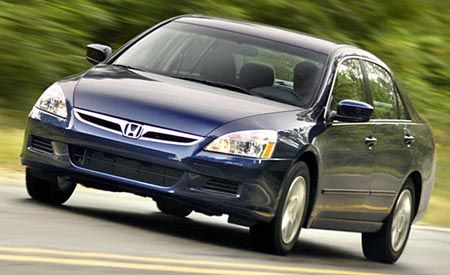 Honda to Drop Hybrid Model for 2008 Accord