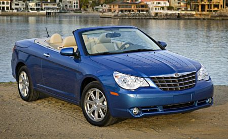 New Ads Kick Off Marketing of 2008 Chrysler Sebring Convertible