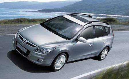 2008 Hyundai i-30 CW and Kia Concept