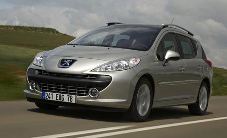 2008 Peugeot 207SW RC and 308SW Prologue
