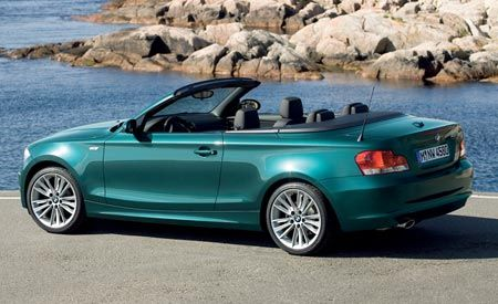 2009 BMW 128i & 135i Convertibles