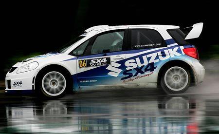 Suzuki SX4 WRC Car