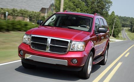 2009 Chrysler Aspen Hybrid and Dodge Durango Hybrid