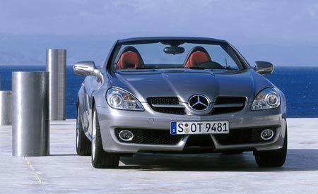 2009 Mercedes SLK280, SLK350, and SLK55 AMG