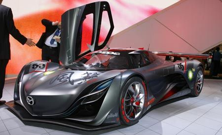 mazda furai concept. Black Bedroom Furniture Sets. Home Design Ideas