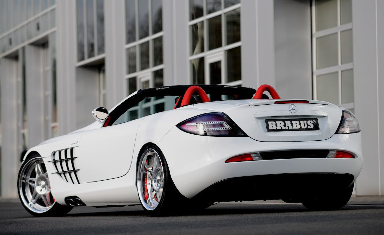2008 Brabus Mercedes Benz Slr Mclaren Roadster And Brabus