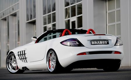 2008 Brabus Mercedes-Benz SLR McLaren Roadster and Brabus Smart Fortwo Ultimate 112