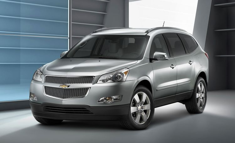 2009 Chevrolet Traverse to Be Volume Vehicle