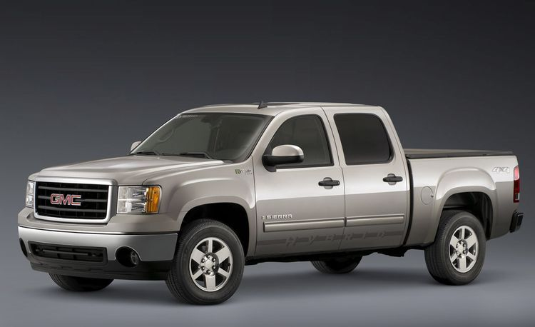 2009 GMC Sierra Hybrid Announced