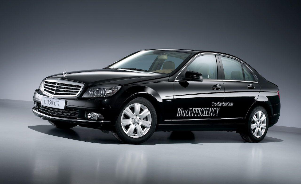 2009 Mercedes-Benz C350 CGI, C200 CDI, and C180 Kompressor Blue Efficiency