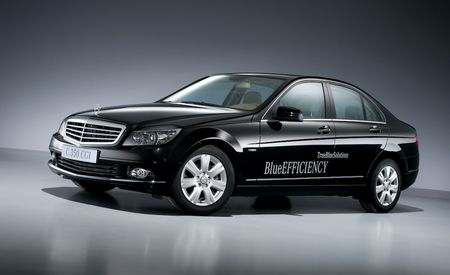 2009 Mercedes-Benz C350 CGI, C200 CDI, and C180 Kompressor Blue Efficiency