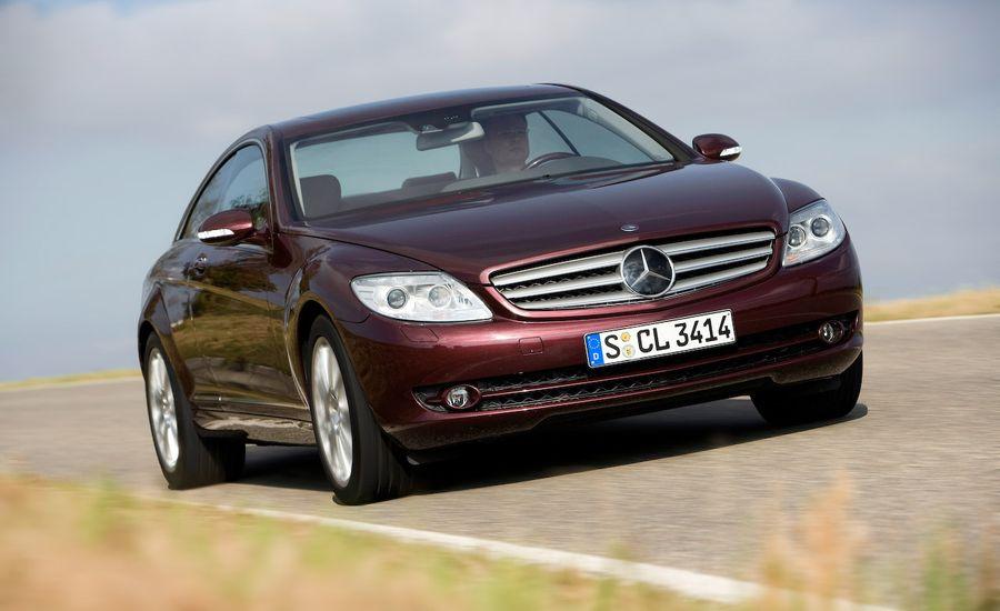2009 Mercedes-Benz CL550 4MATIC