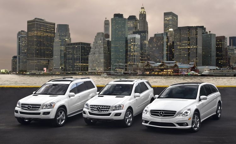 2009 Mercedes-Benz ML320, GL320, and R320 BlueTec Diesels