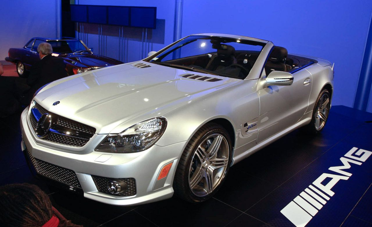 2009 mercedes benz sl550 sl600 and sl63 amg for Mercedes benz sl500 amg