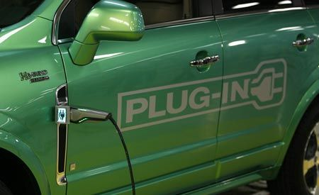 Saturn Vue Green Line Plug-In Hybrid