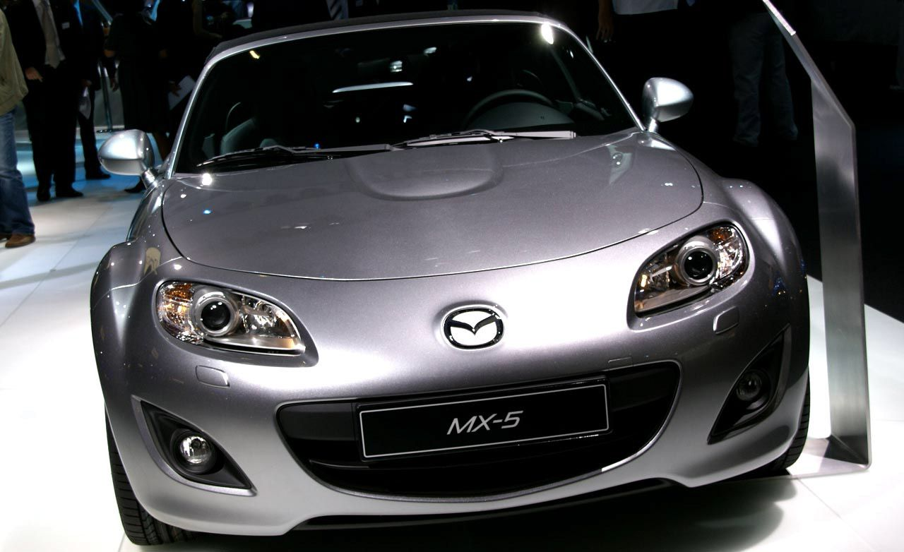 Mazda MX-5 Miata Gets A Face Lift