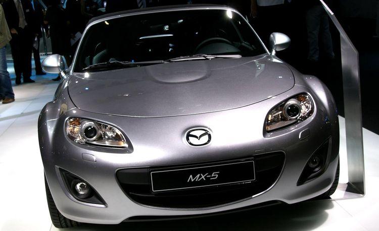 Mazda MX-5 Miata Gets A Face Lift
