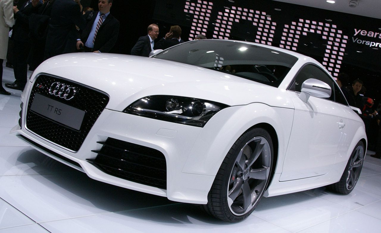 2010 audi tt rs | auto shows | news | car and driver