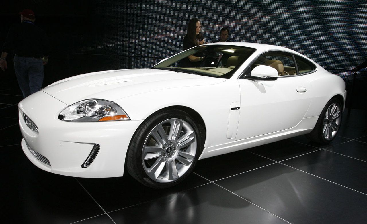 2010 jaguar xk xkr coupe and convertible auto shows news car and driver