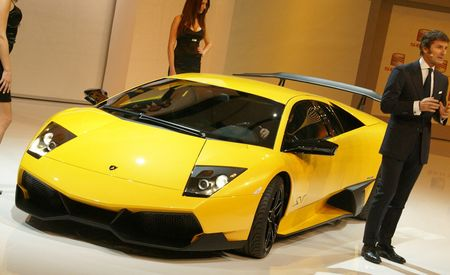 2010 Lamborghini Murciélago LP670-4 SV SuperVeloce