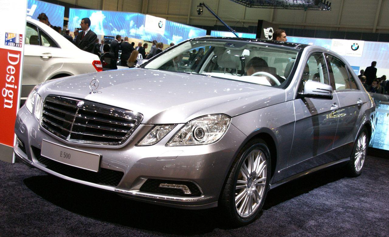 All Types mercedes e class estate 2010 : 2010 Mercedes-Benz E-class / E350 / E550   Official Photos And ...