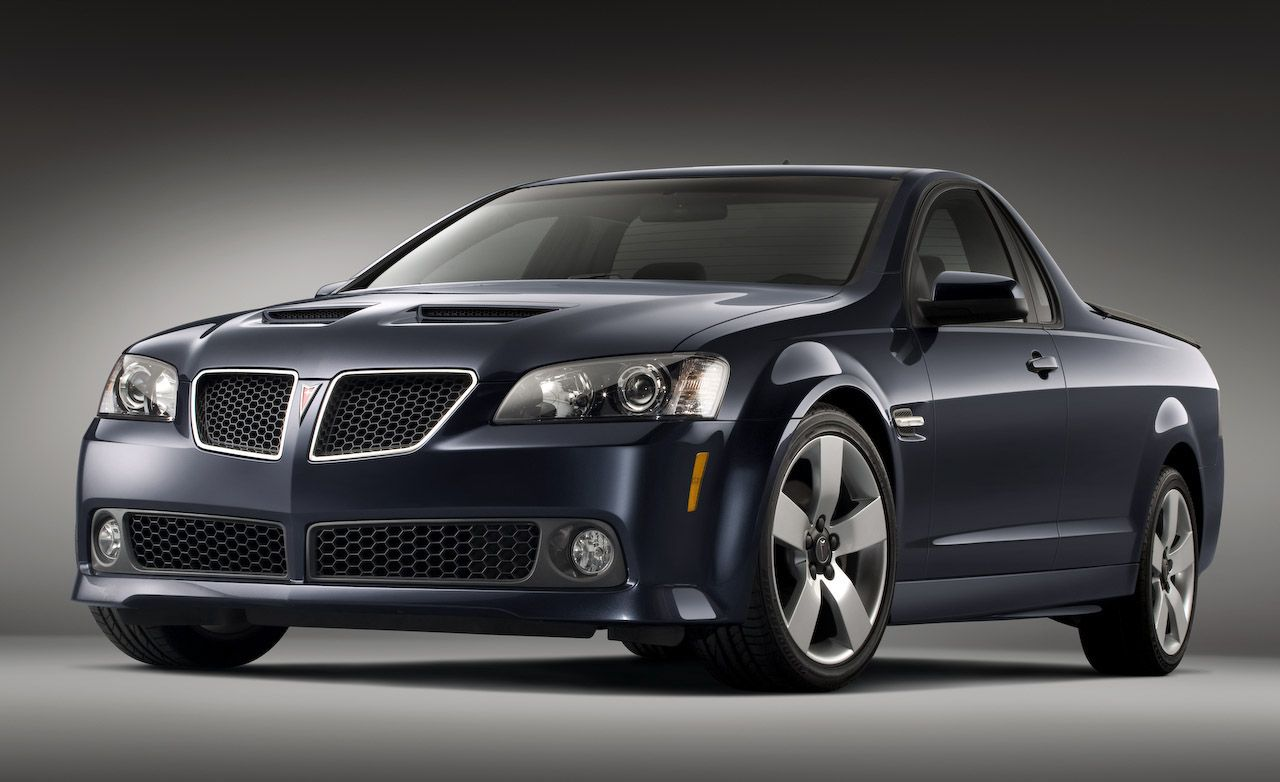 2010 Pontiac G8 ST Pickup Killed