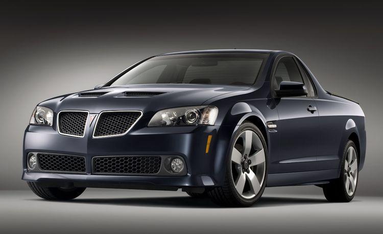 2010 Pontiac G8 ST Pickup Killed