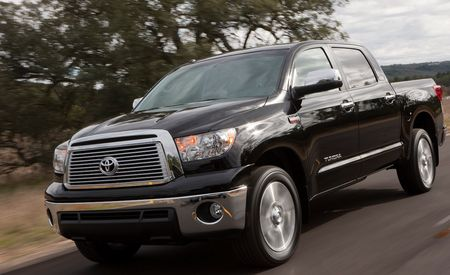 2010 Toyota Tundra Work Truck, Platinum Edition, and 4.6-liter V-8