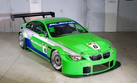 BMW Alpina B6 GT3 Race Car