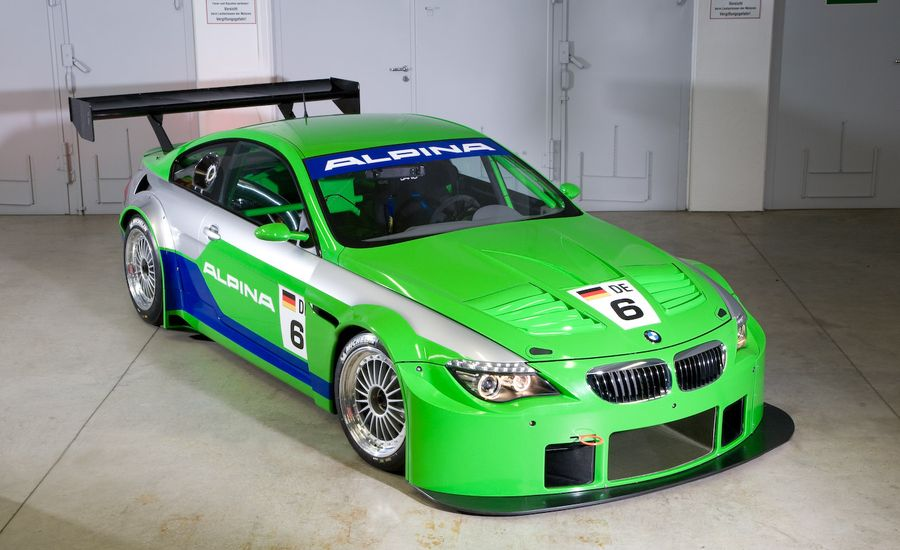 BMW Alpina B6 GT3 Race Car