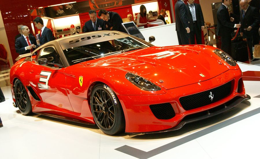 Ferrari 599gtb Fiorano Hgte And 599xx