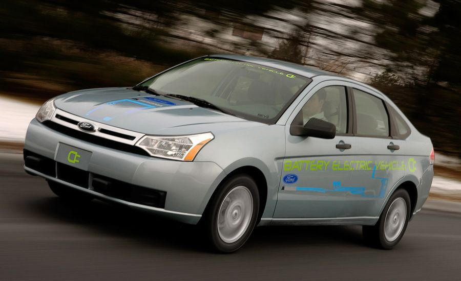 Ford to Bring Four Electric Vehicles to Market by 2012