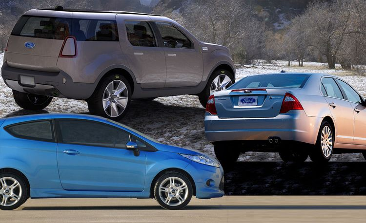 Fords of the Future: Lighter, More Efficient, Electric, and Subsidized
