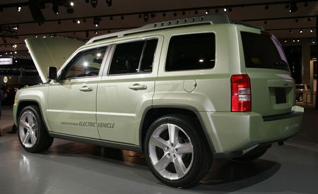 Jeep Patriot EV Concept