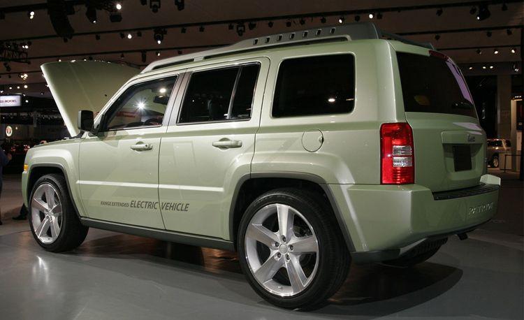 Jeep Patriot EV Concept