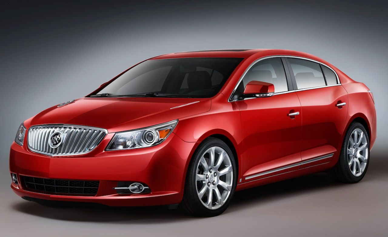 2010 buick lacrosse pricing announced. Black Bedroom Furniture Sets. Home Design Ideas