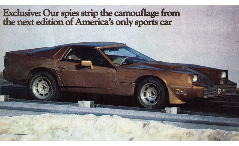 1983 Chevrolet Corvette Prototype