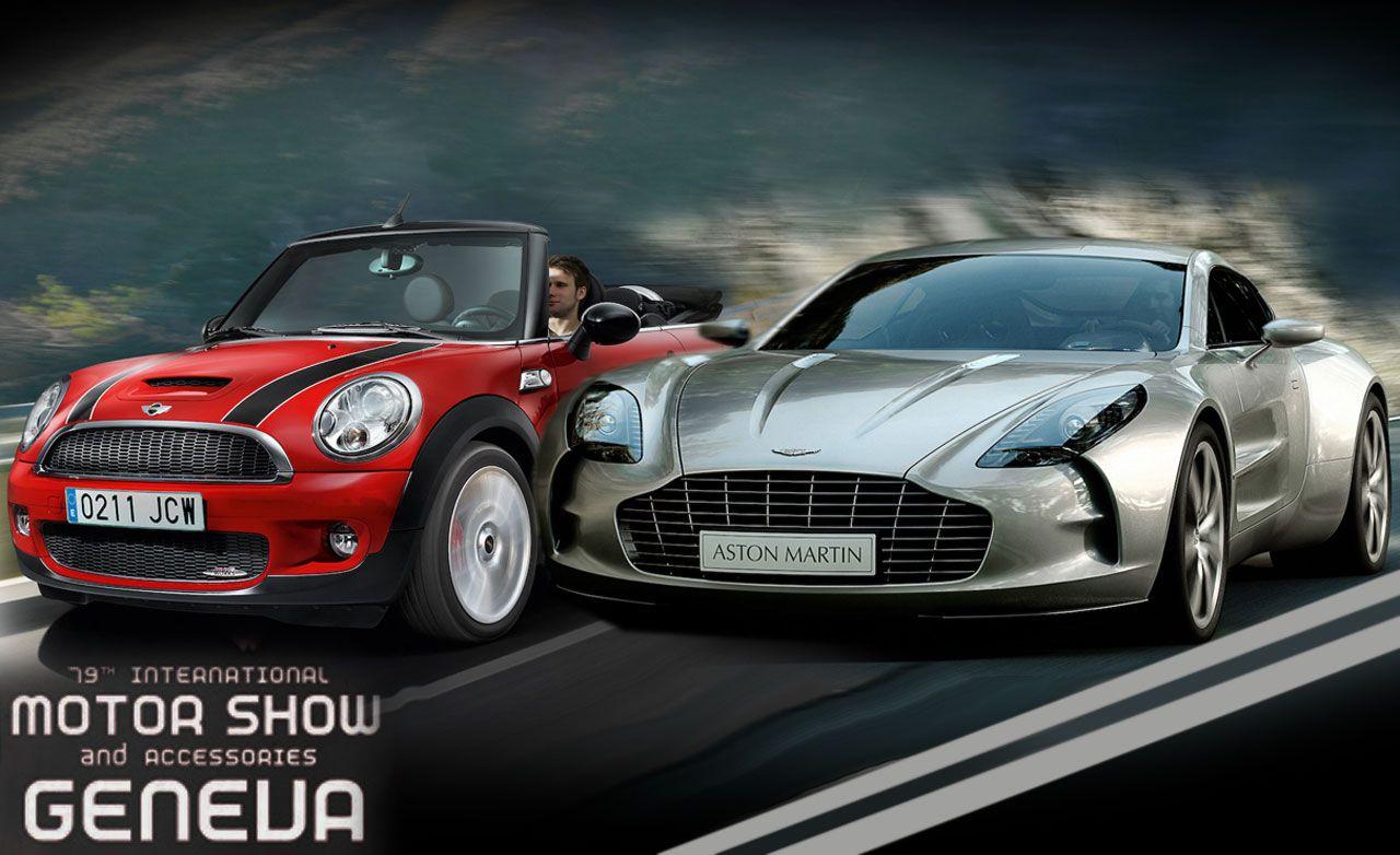 2009 Geneva Auto Show: Speed for All Budgets