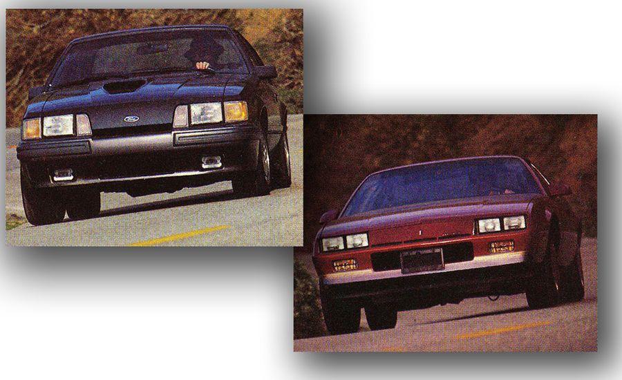 1985: Chevy Camaro Berlinetta vs. Ford Mustang SVO