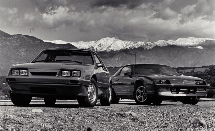 1986 Ford Mustang LX 5.0 vs. Chevrolet Camaro IROC-Z
