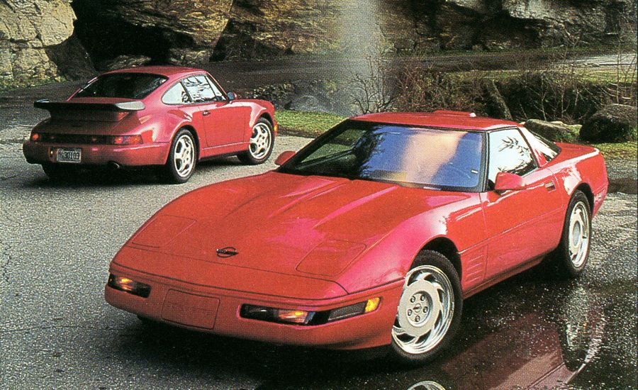 1991 Chevrolet Corvette ZR-1 vs. 1991 Porsche 911 Turbo